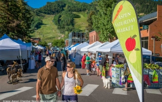 Aspen Saturday Market in Aspen, CO