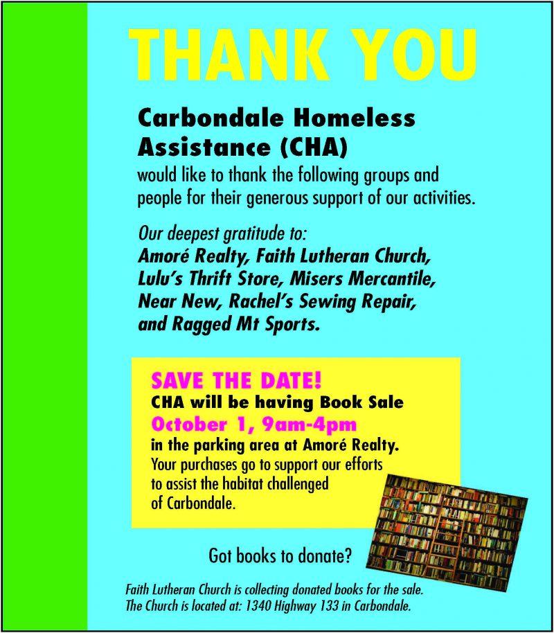 CHA Book Sale